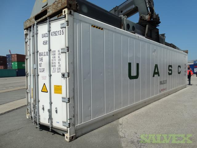 40ft HC Reefer (1 Unit)