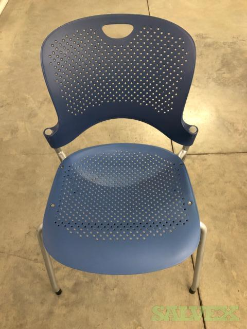 Herman Miller Stack-able Caper Chairs (20 Chairs)