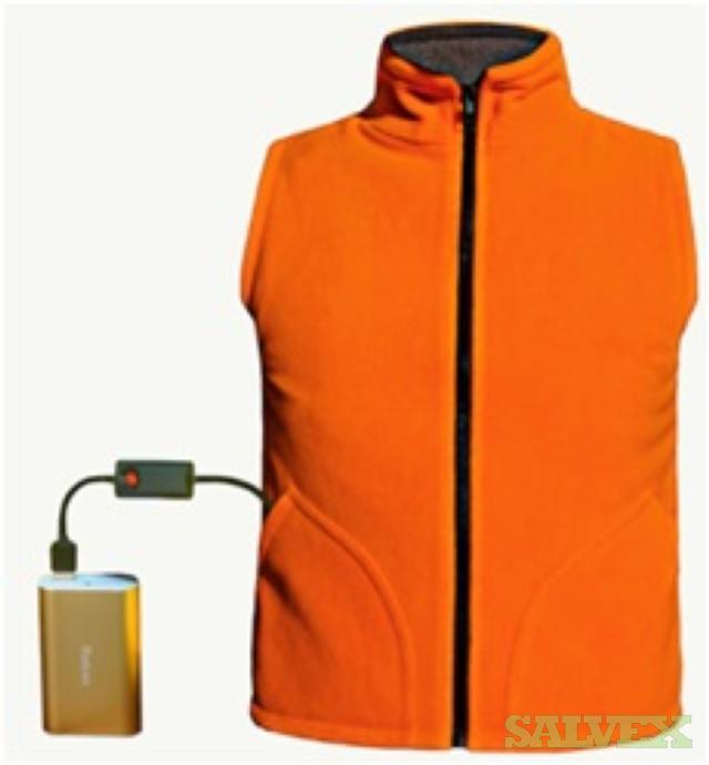 Heated Clothing- Jackets, Shirts etc.- 5250 Units