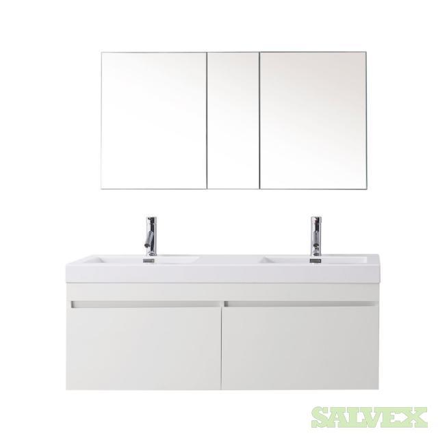 Zuri 55 Gloss White