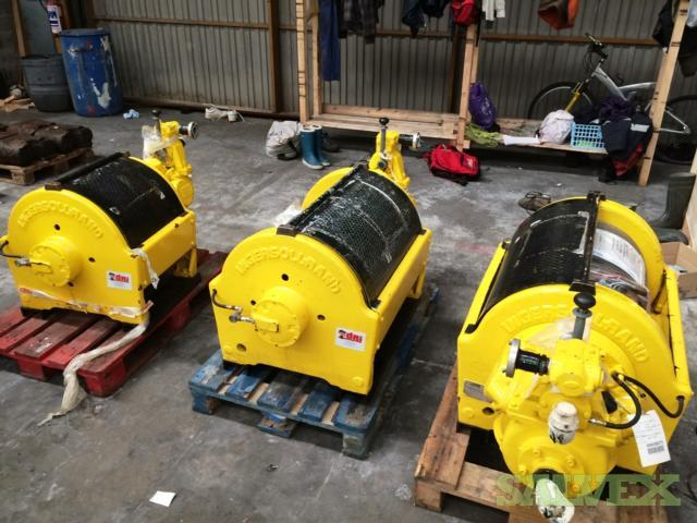 Ingersoll Rand 5 Tonnes Air Winches (3 Units)