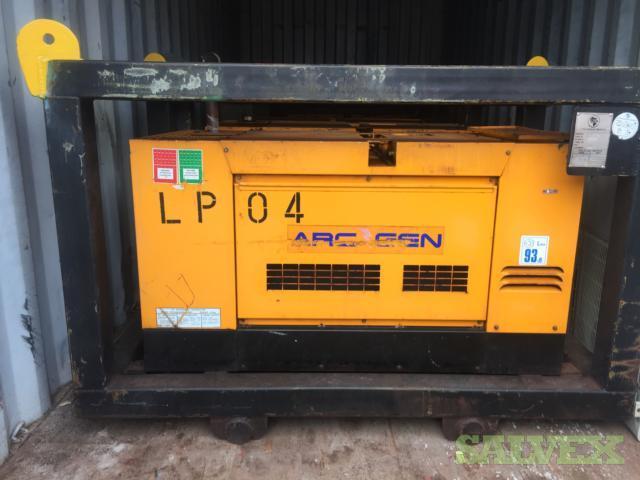 Arc Gen 400SSD Diesel Welding Generators (10 Machines and Spare Parts)