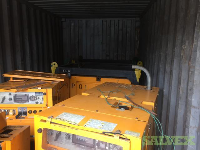 Arc Gen Diesel Welding Generators 400SSD (10 Units) and Spare Parts
