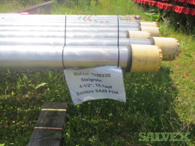 4 1/2 15.10# Surplus Tubing (154 Feet)