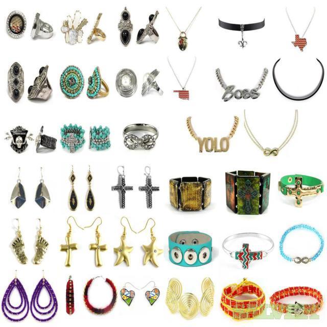 Assorted fashion Jewelry 120,000 Units, Estimated Retail $1.2 M