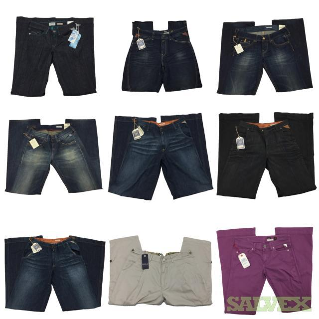 Women's Designer Replay Jeans Assorted Colors, Styles, & Sizes, 5,000 Units, Retail $600,000