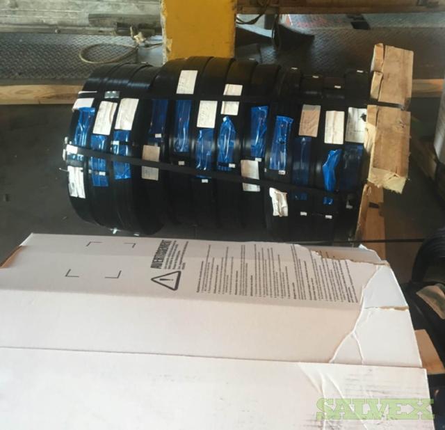 Black Standard Duty Steel Strapping 3/8 x 0.015 (6092  Lbs)