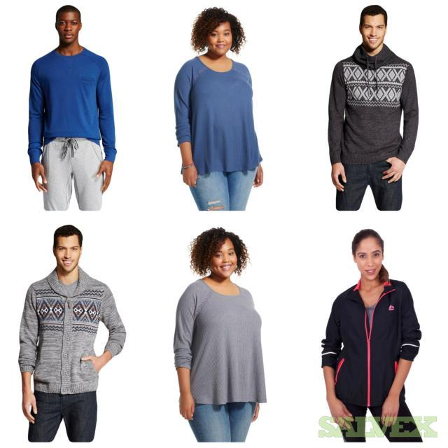 Men & Women Sweaters Assorted Sizes & Styles, 195 Units, Retail $6,192.92