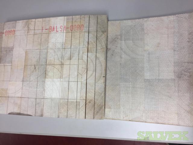 Balsalud End Grain Balsa Wood Core (Flexible & Uncoated) (72,168 SF)