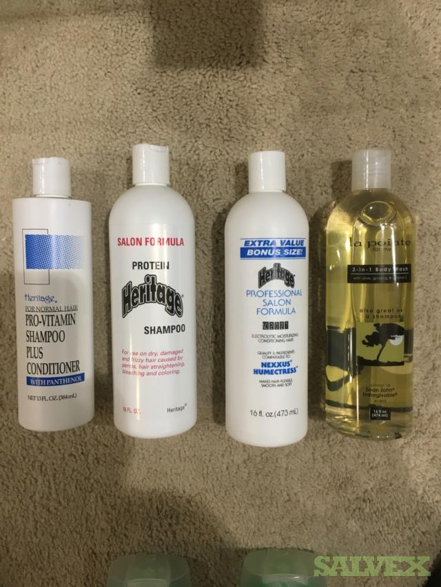 Shampoo, Conditioner, Baby Oil, Lubricating Lotion Etc 27,212 pieces
