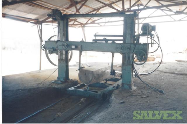 Sawmill Machinery: Log Mill, Saws, Blade Sharpener & Saw Tension Machine (8 Items)