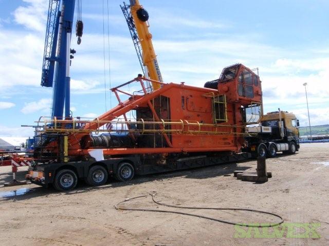 Liebherr BOS 40/1300 Offshore Pedestal Crane 1982 (40 Ton Capacity)