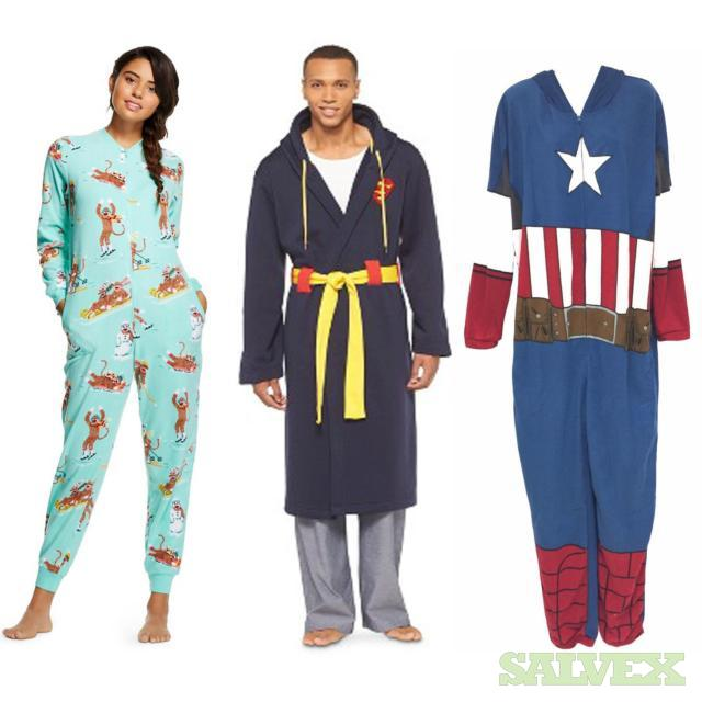 Women's and Men's Pajamas & Robes, 402 Units, Retail $13,645.38