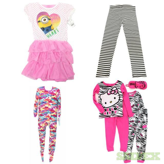 Girls Sleepwear, 724 Units, Retail $10,776.76