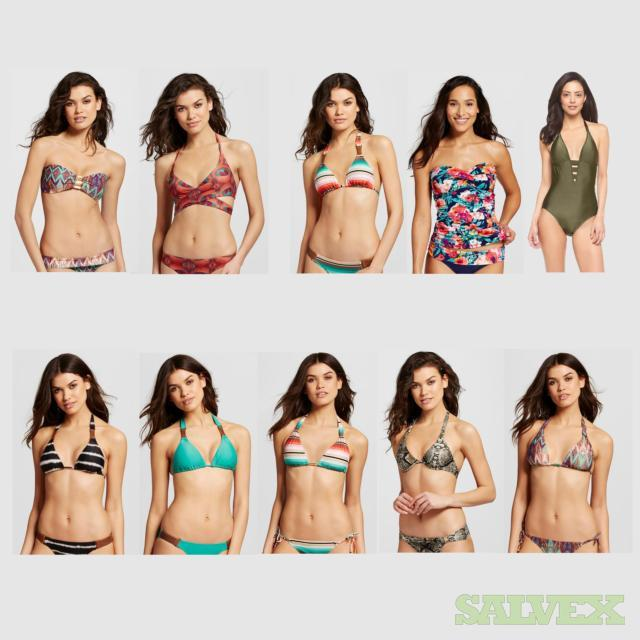 Women's Swimwear Assorted Sizes and Styles. 582 Units, Retail $11,003.43