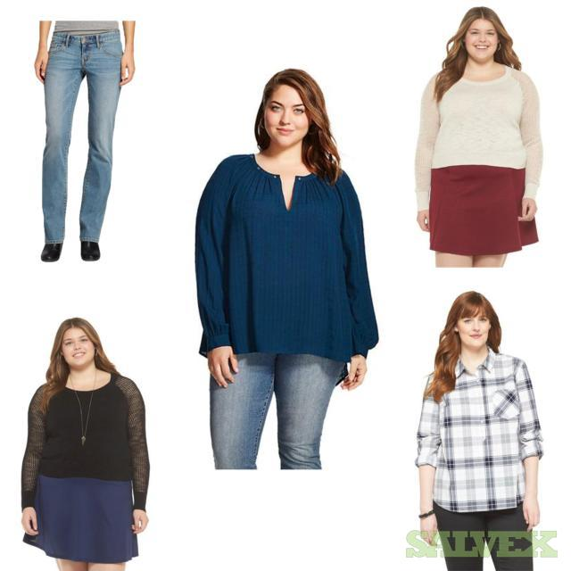 Women's Plus Sweaters, Jeans and Other Apparel Assorted Sizes and Styles. 265 Units, Retail $6,572.05