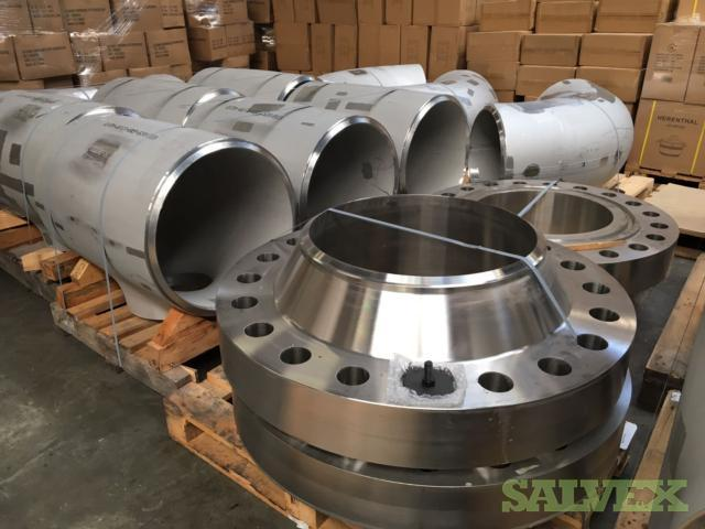 Pipe Fittings, Elbows and Tees: Technoforge, Erne, Chero, Galperti (12,133 Kg / 26,748.68 Lbs)