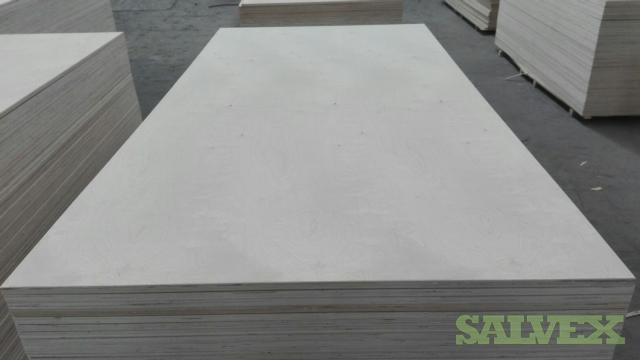 White Birch Plywood 4x8