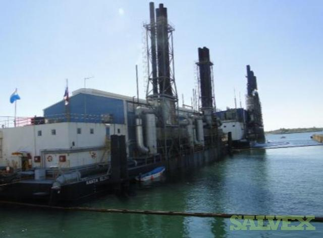 45MW Power Barge