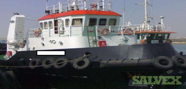 Steel Tug Boat 12 Persons Built 2005 (1 Unit)