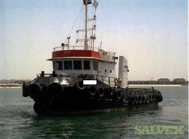 Twin Screw Steel Tug Boat 8 Persons Built 1993 (1 Unit)