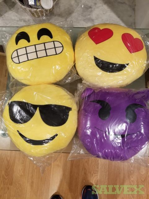 Emoji Pillows 12-14 Styles -2,100  Units