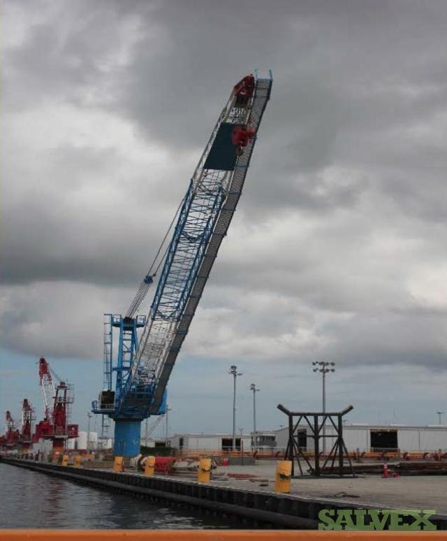 Techcrane L300-160 Shipboard Pedestal Crane