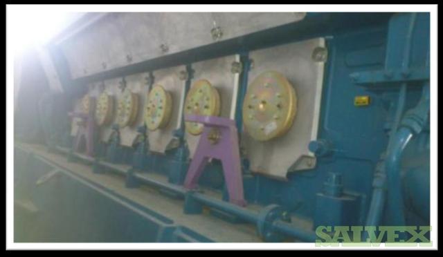 Wartsila Type W12V32 HFO Fired Generator Set 2007 (5.3 MW)