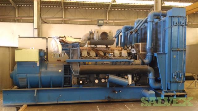 Perkins Gensets 1500 kVa (2 Units)