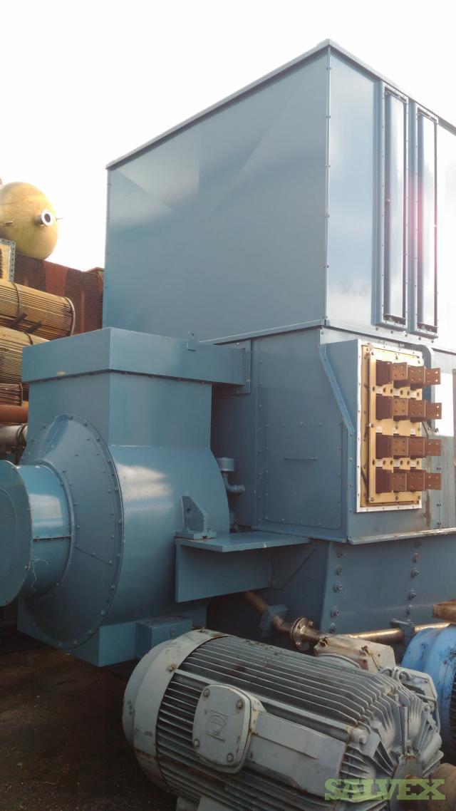 ABB GBA 1250 A LF Alternator 56,250 kVa