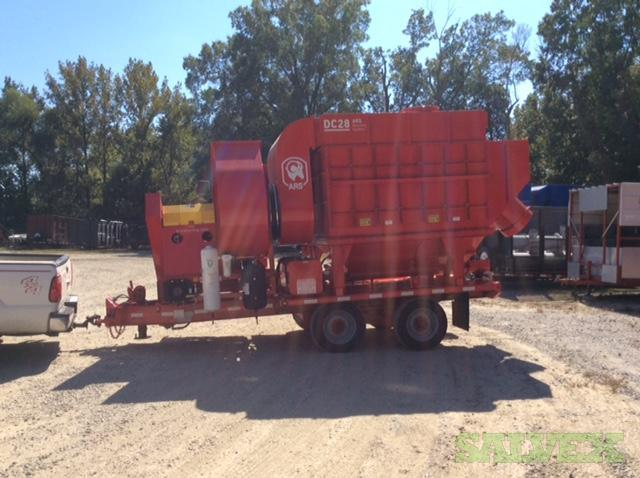 28,000 CFM @ 16 wg - ARS DC-28 Dust Collector - Diesel or Electric (1 Unit)