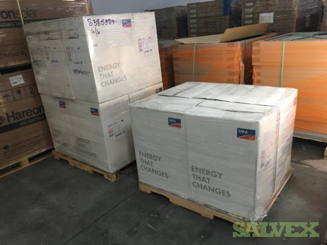 SMA Solar Inverters and Equipment (48 Items)