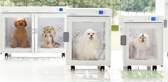Vuum Pet-Care Room - Dog Air Shower, Dry Room, Removes Dust (1 Unit)