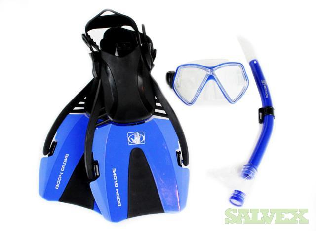 Body Glove Brand Snorkeling Equipment : Snorkels, Swim Masks and Fins ( 6035  Pcs)