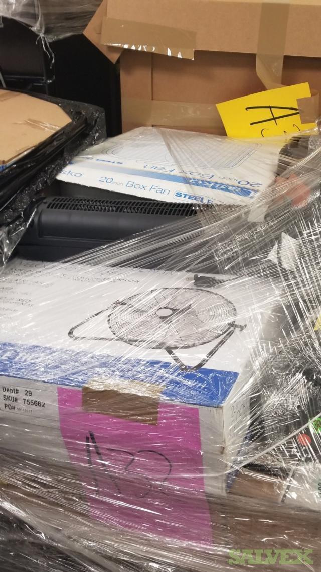 Home Depot Returns, Fridges, Fans, LG Electronics, Husky, GE, Ridgid