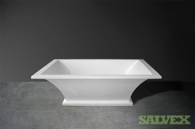 12 x Bath tub 182.5x90.5x55.4cm