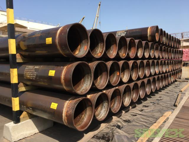 22 170# X80 S-90MT DSAW R3 Surplus Casing (3,000 Feet / 231 Metric Tons)