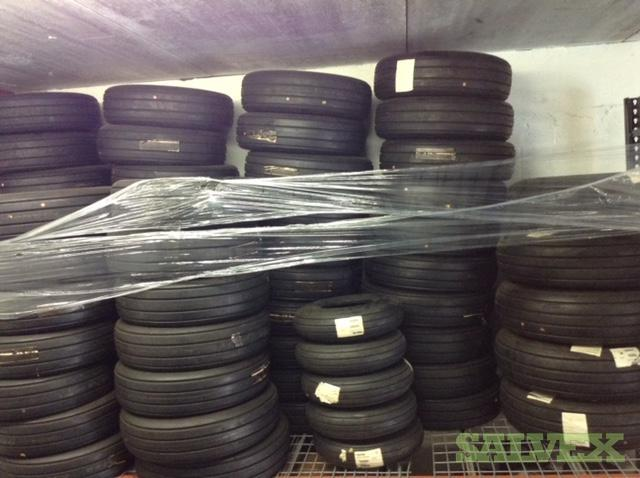 Goodyear and Dunlop Landing Gear Tires - for the Bombardier Dash 8 and Q400 (61 Units)