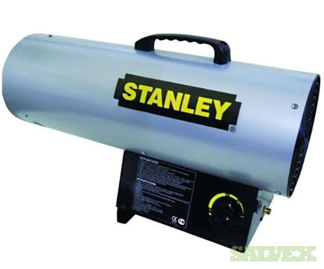 Stanley Heaters, Bullet Heaters, and Dehumidifiers (76 Units)