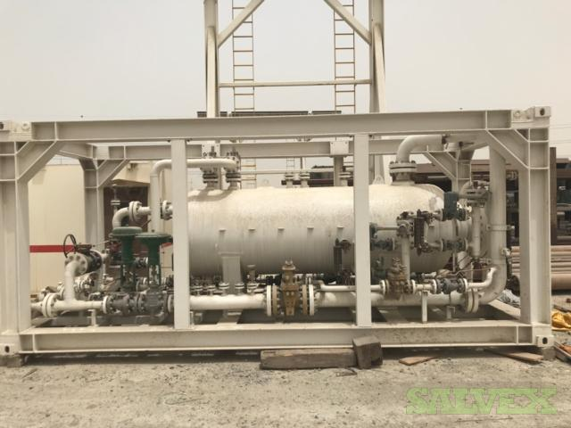 Well Test Separator Skid - 3 Phase Fitted in CSC/DNV 2.7-1 Dual Certified 20' Frame
