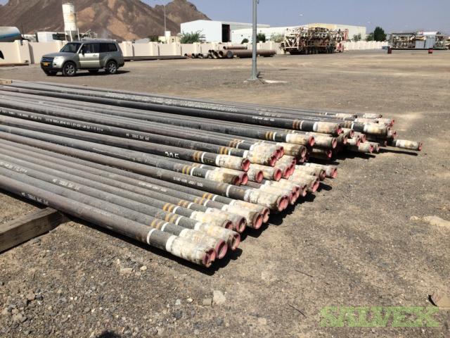 4 1/2 12.60# 13CR110 HC JFE Bear R3 Surplus Tubing (2,940 Feet / 17 Metric Tons)