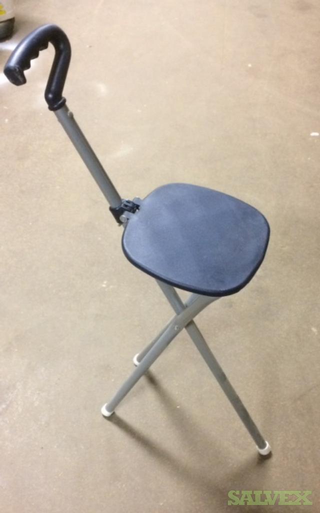 Folding Cane Chairs