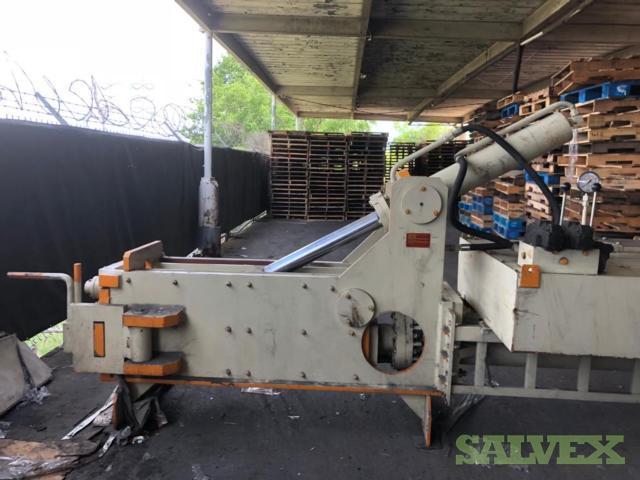 Baler for Scrap Metal, New Machine - Dholaria
