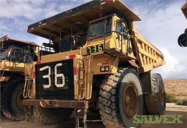 1996 Caterpillar 777D Truck