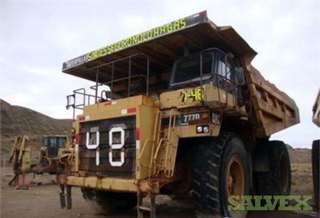 2001 Caterpillar 777D Truck 48