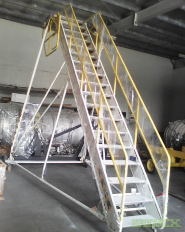 Aircraft Ladders and Engine Wash Probe (3 Items)