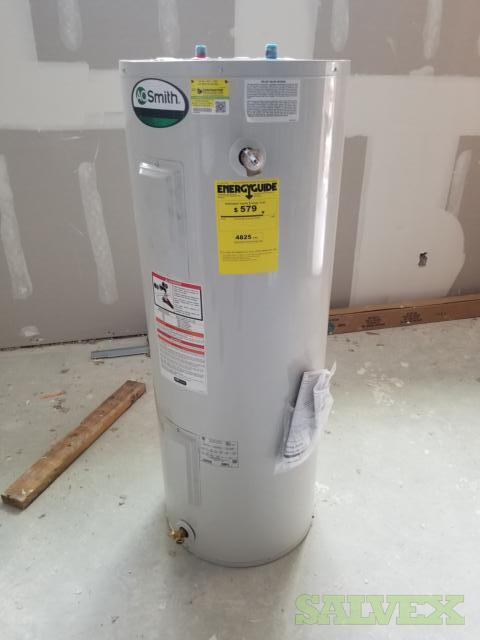 AO Smith, Rheem and Bradford Water Heaters (337 Units)