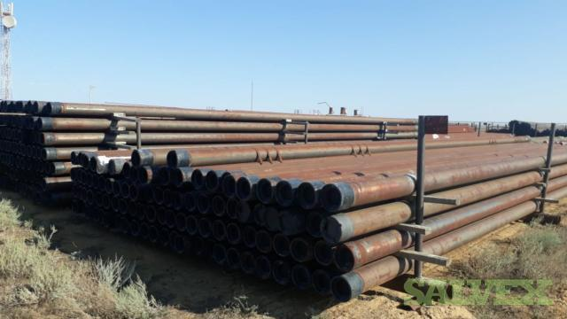 7 26# K55 BTC R3 Surplus Casing (9,360 Feet / 110 Metric Tons)