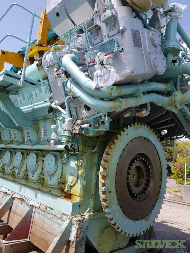 MAN STX 14V32/40 Marine Engines (New, 2 Units)   Salvex