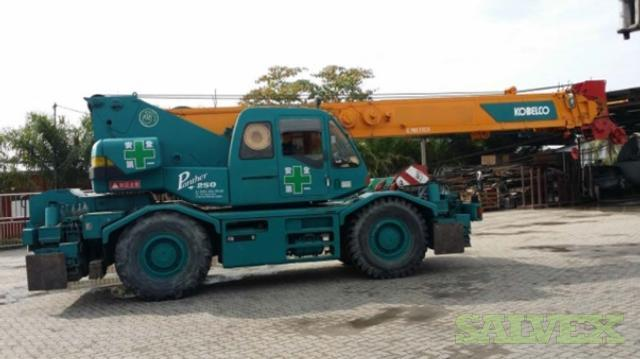 Kobelco RK250-3 Rough Terrain Mobile Crane 2007 (1 Unit)